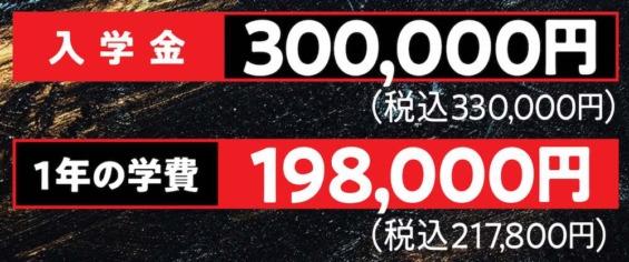 参加費50万円